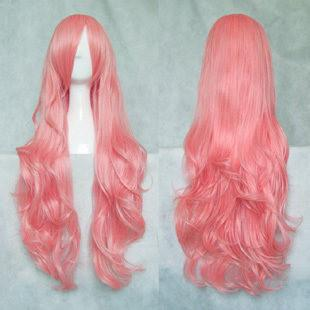 Long Wavy Pink Wig SD00033 - SYNDROME - Cute Kawaii Harajuku Street Fashion Store