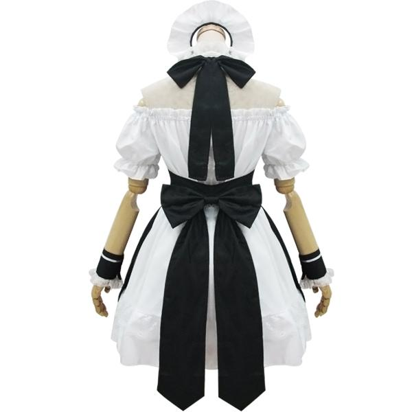 Black White Shoulder-less Bow Maid Dress SD00875 - SYNDROME - Cute Kawaii Harajuku Street Fashion Store