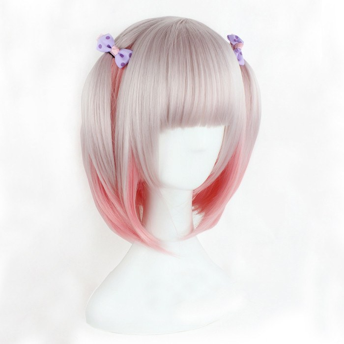 Harajuku Japanese Light Pink Wig SD00262 - SYNDROME - Cute Kawaii Harajuku Street Fashion Store