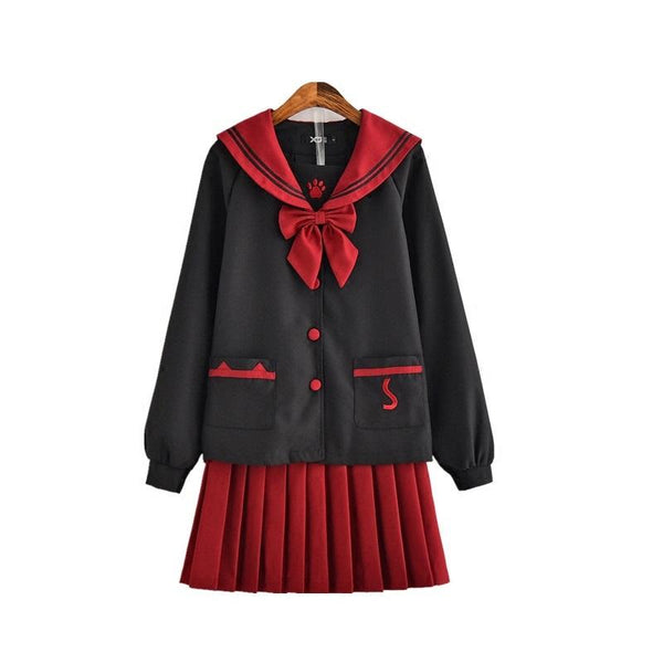 Kitty School Uniform SD01585 - SYNDROME - Cute Kawaii Harajuku Street Fashion Store