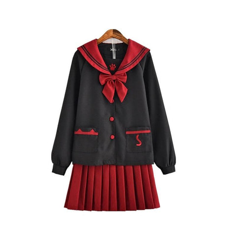 Japanese Harajuku Kitty School Uniform SD01585 - SYNDROME - Cute Kawaii Harajuku Street Fashion Store