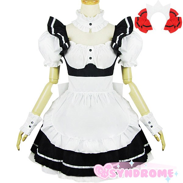 Japanese Anime Date a Live Kotori Itsuka Maid Dress SD02417 - SYNDROME - Cute Kawaii Harajuku Street Fashion Store