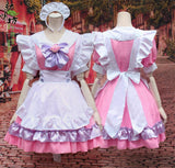 Pink Cat Paw Bow Maid Dress SD00782