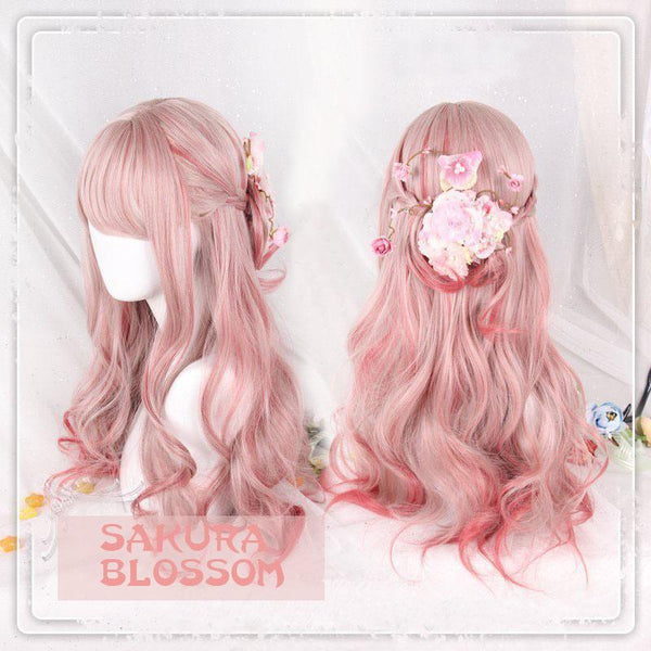 Sakura Blossom Long Wig SD01929 - SYNDROME - Cute Kawaii Harajuku Street Fashion Store