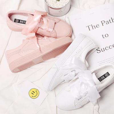 Sweet ribbon casual sneaker shoes SD00906