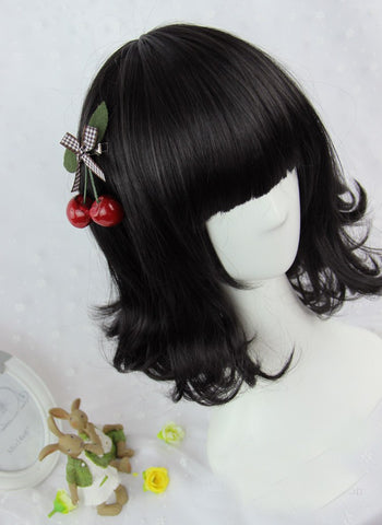 Harajuku Natural Black Wig SD00721