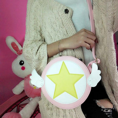 Cardcaptor Sakura Wing Star Shoulder Bag SD02241 - SYNDROME - Cute Kawaii Harajuku Street Fashion Store