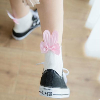 Bunny Ears Socks SD01087 - SYNDROME - Cute Kawaii Harajuku Street Fashion Store