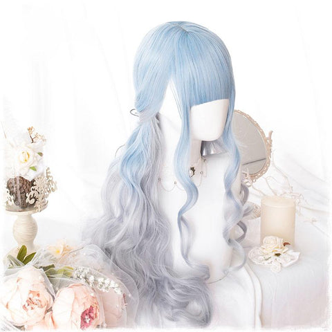 Smokey Cloud Lolita Wig SD00076 - SYNDROME - Cute Kawaii Harajuku Street Fashion Store