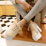 Casual Platform High-Heel Shoes SD00244 - SYNDROME - Cute Kawaii Harajuku Street Fashion Store
