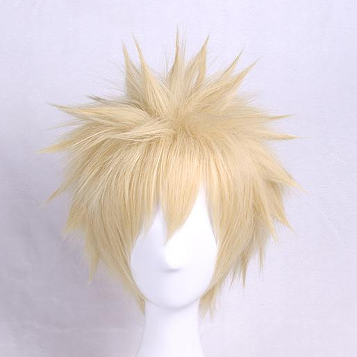 My Hero Academia Katsuki Bakugo Green Short Wig SD01599