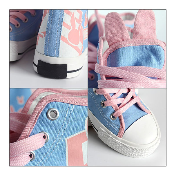 Overwatch D.VA DVA Bunny Shoes SD01470 - SYNDROME - Cute Kawaii Harajuku Street Fashion Store