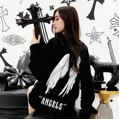 Angel Wings Sweater SD00834 - SYNDROME - Cute Kawaii Harajuku Street Fashion Store