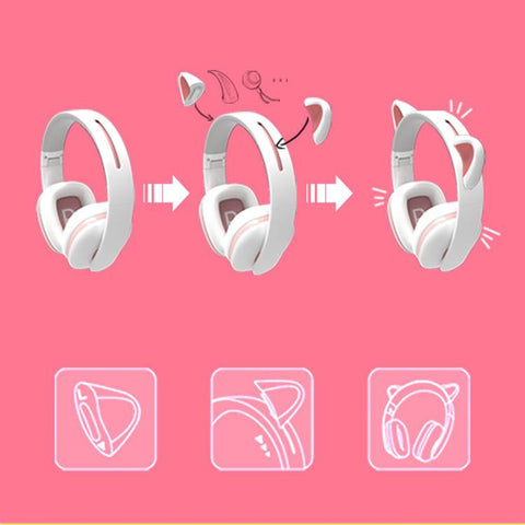 [Exculsive Censi]Kitty Cat Headphones SD01417
