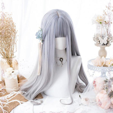 Silver Gradient Long Wig SD00176