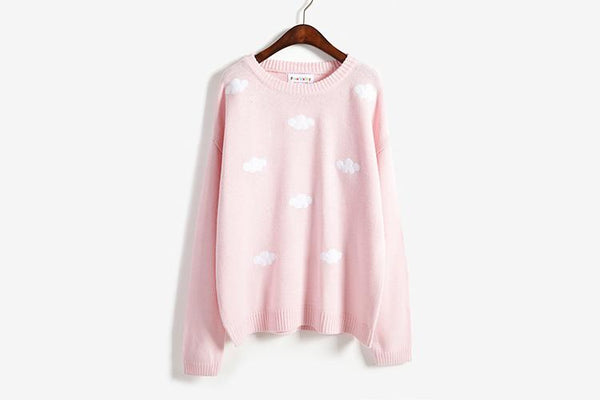 Cloud Sweater SD00759 - SYNDROME - Cute Kawaii Harajuku Street Fashion Store