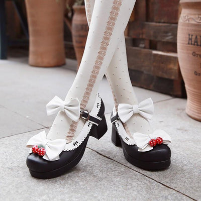 Strawberry Bells Lolita Shoes SD01996 - SYNDROME - Cute Kawaii Harajuku Street Fashion Store