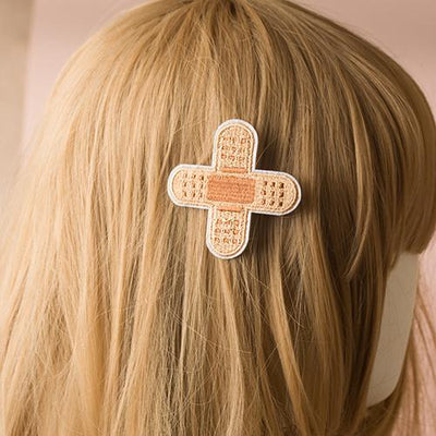 Bandage Hair Clip SD00323 - SYNDROME - Cute Kawaii Harajuku Street Fashion Store