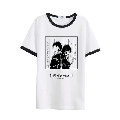 Anime Couple Love T-shirt SD00780 - SYNDROME - Cute Kawaii Harajuku Street Fashion Store