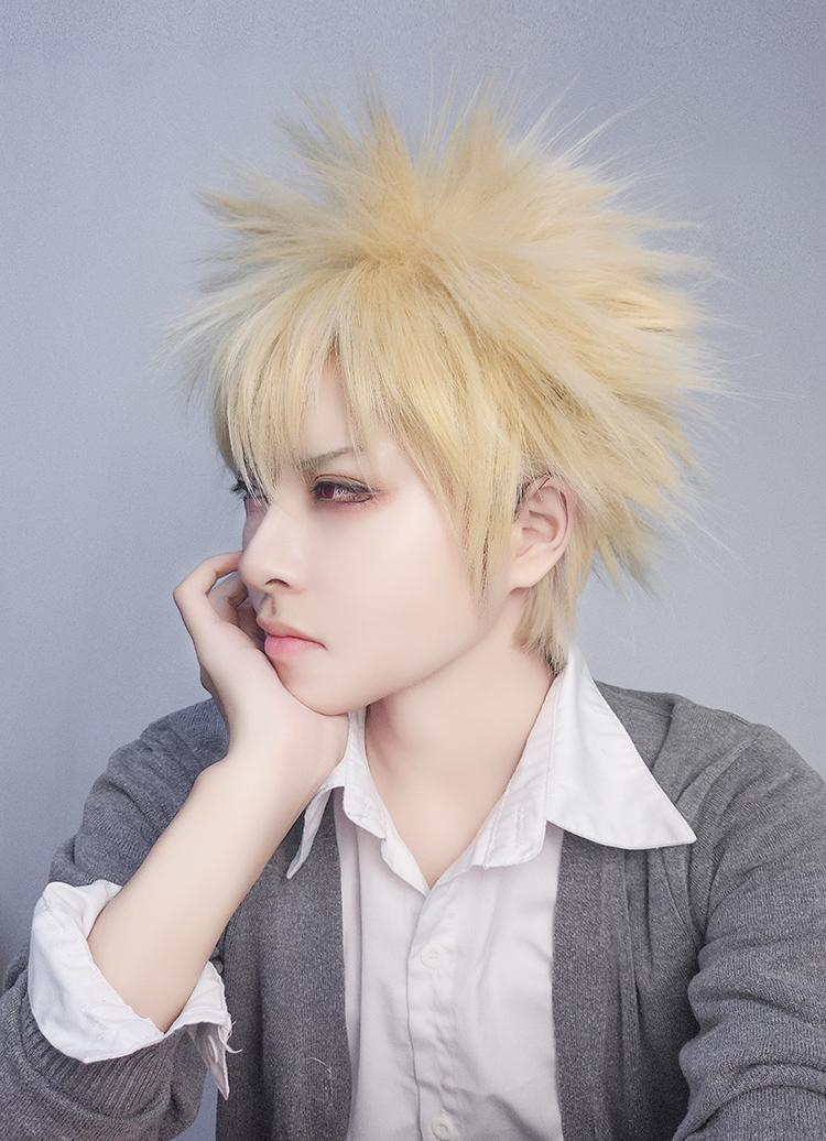 Katsuki Bakugo Wig Sd01599 Syndrome Cute Kawaii