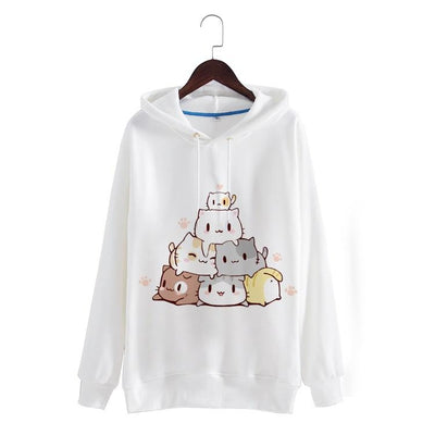 Kawaii Neko Sweater SD01138 - SYNDROME - Cute Kawaii Harajuku Street Fashion Store