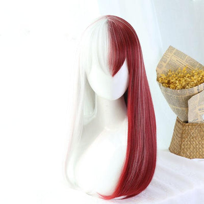 Female Shoto Todoroki Wig SD01032 - SYNDROME - Cute Kawaii Harajuku Street Fashion Store
