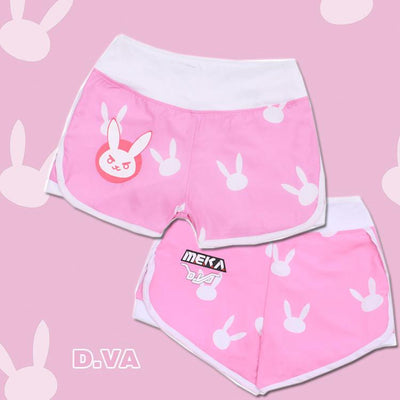 Overwatch D.VA Bunny Shorts SD02426 - SYNDROME - Cute Kawaii Harajuku Street Fashion Store