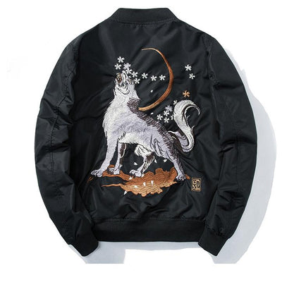 Wolf Roar Jacket SD00871 - SYNDROME - Cute Kawaii Harajuku Street Fashion Store