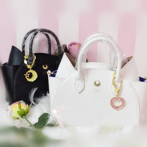 Kawaii Anime sailor moon Artemis & Luna bag SD00602