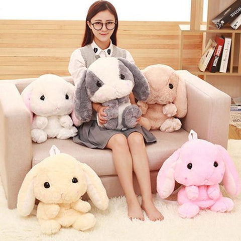 Cute Fluffy Bunny Backpack SD00055
