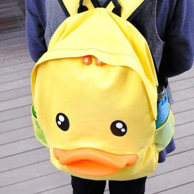 Duck Face Backpack SD02140 - SYNDROME - Cute Kawaii Harajuku Street Fashion Store