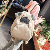Puppy Dog and Fox School Backpack SD02136 - SYNDROME - Cute Kawaii Harajuku Street Fashion Store