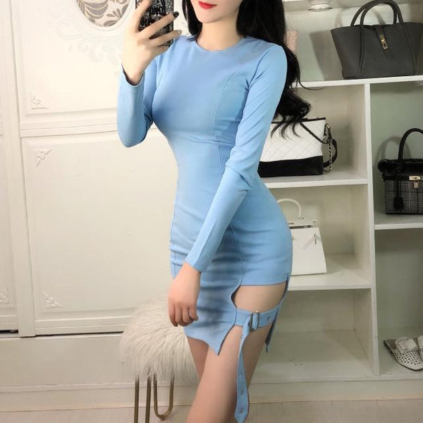 Korean Sexy Strap Skirt Night Dress SD01285