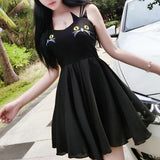 Cat Chest Dress SD02485 - SYNDROME - Cute Kawaii Harajuku Street Fashion Store