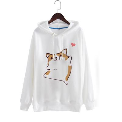 Hello Shiba Sweater SD01135 - SYNDROME - Cute Kawaii Harajuku Street Fashion Store