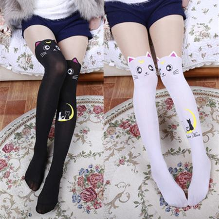 Japanese Luna&Artemis Sailor moon Tights SD01661