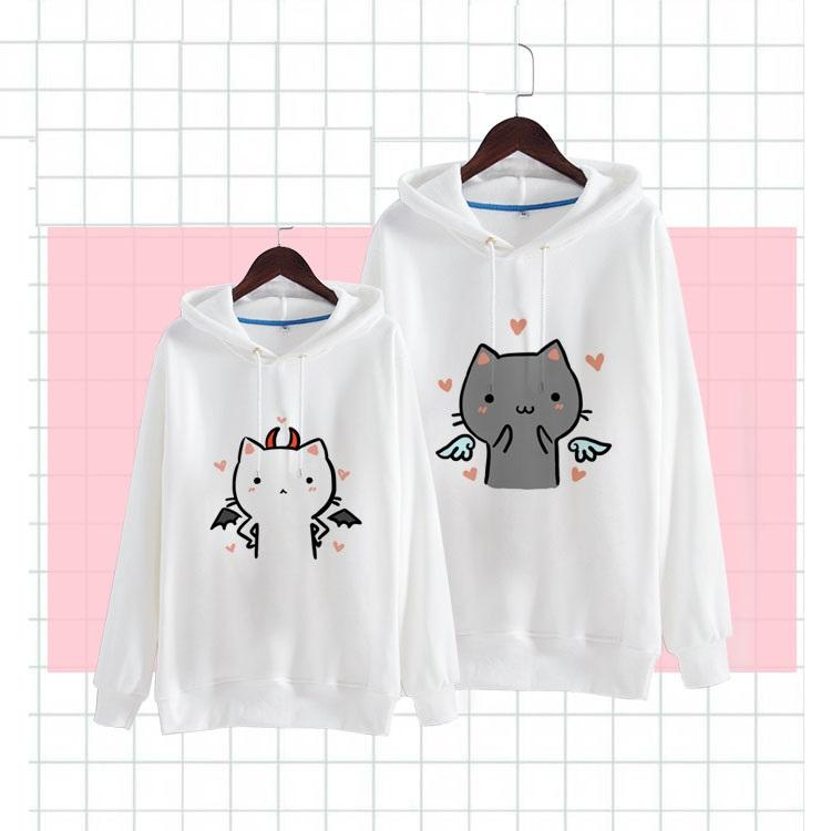Japanese Kawaii Angel Devil Neko Sweater SD01169 - SYNDROME - Cute Kawaii Harajuku Street Fashion Store