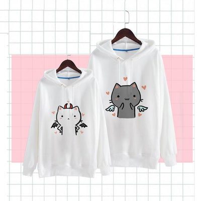 Angel Devil Neko Sweater SD01169 - SYNDROME - Cute Kawaii Harajuku Street Fashion Store