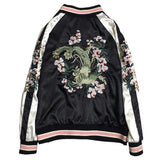 Embroidered Flower Harajuku Baseball Jacket SD01900 - SYNDROME - Cute Kawaii Harajuku Street Fashion Store