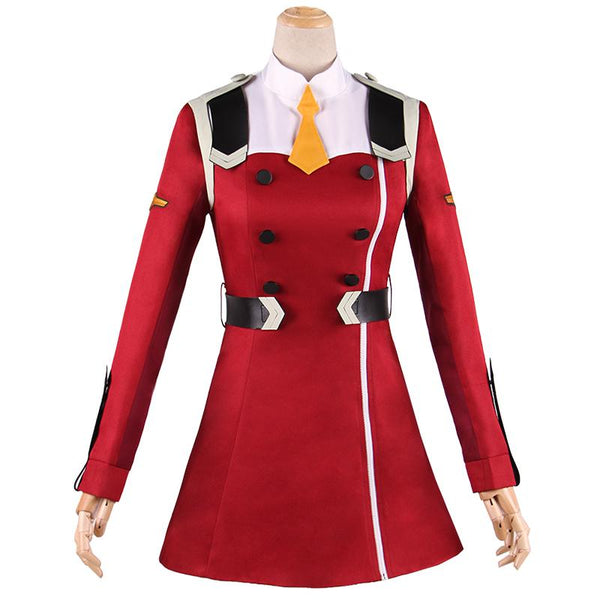 Darling In The Franxx Code:002 Zero Two Dress Jacket Cosplay SD01521 - SYNDROME - Cute Kawaii Harajuku Street Fashion Store