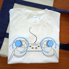 Cute Game Controller T-Shirt SD02056 - SYNDROME - Cute Kawaii Harajuku Street Fashion Store