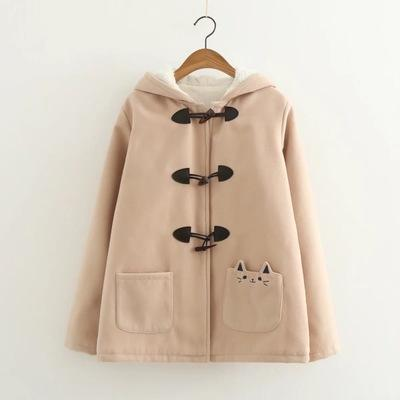 Cat Pocket Jacket SD01653 - SYNDROME - Cute Kawaii Harajuku Street Fashion Store