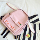 Japanese harajuku canvas cute animal backpack SD00797 - SYNDROME - Cute Kawaii Harajuku Street Fashion Store