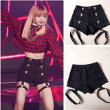 BlackPink Lisa Tiger Garter Shorts SD02332 - SYNDROME - Cute Kawaii Harajuku Street Fashion Store