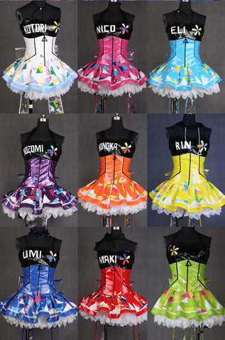 Cosplay Love Live LoveLive Light Up LED Cyber Costumes SD00733