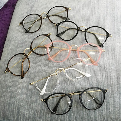 Color Frame Fake Glasses SD01652 - SYNDROME - Cute Kawaii Harajuku Street Fashion Store