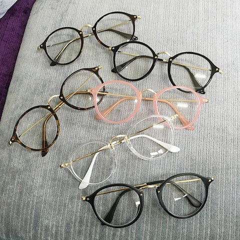 Cute Harajuku Color Frame Glasses SD01652