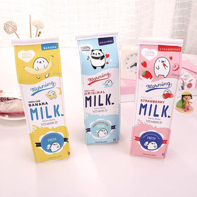 Yummy Milk Pencil Bag SD00828 - SYNDROME - Cute Kawaii Harajuku Street Fashion Store