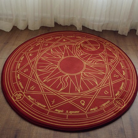 Cardcaptor Sakura Star Sun and Moon Carpet SD00468