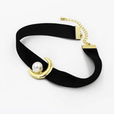 Golden Moon Collar SD00726 - SYNDROME - Cute Kawaii Harajuku Street Fashion Store